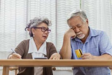Older couple worried about credit card bills